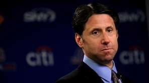New York Mets chief operating officer Jeff Wilpon,