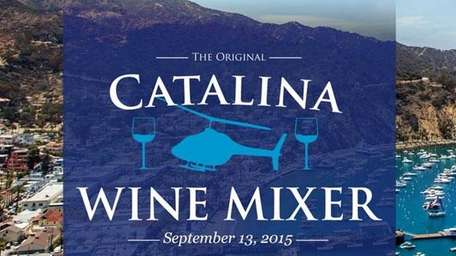 A company is hosting a real-life Catalina Wine