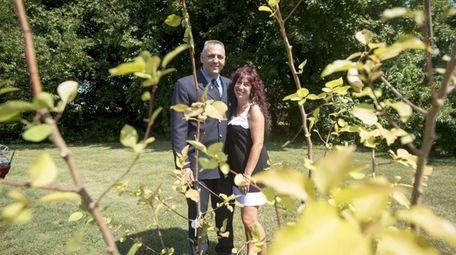 Francesca Yellico and her husband, Matthew Yellico, received