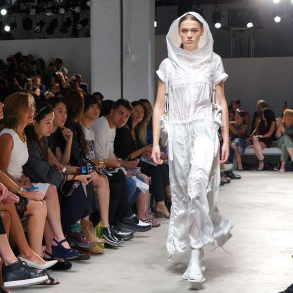 Nicholas K officially opened NYFW at Clarkson Square