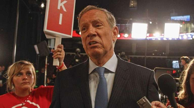 Former New York Gov. George Pataki is interviewed