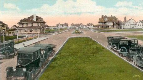 Jackson Boulevard, now Edwards Boulevard, in Long Beach,