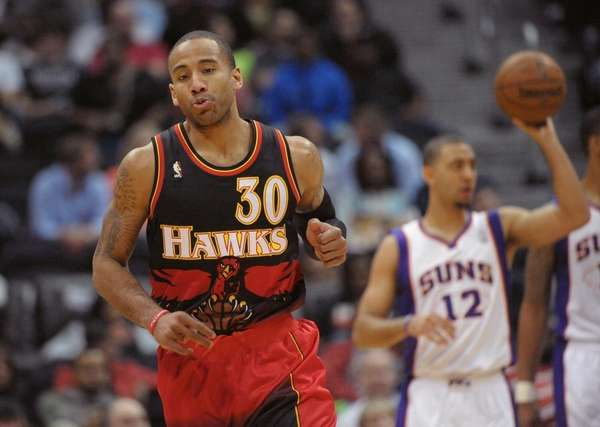 Atlanta Hawks forward Dahntay Jones (30) is shown