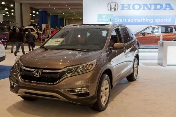The Honda CR-V is a popular SUV for