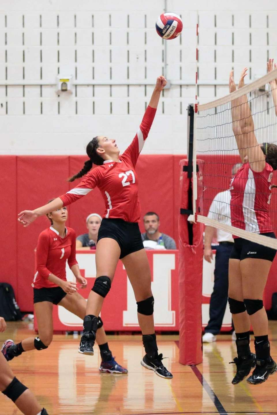 Connetquot outside hitter Cassandra Patsos had 10 kills