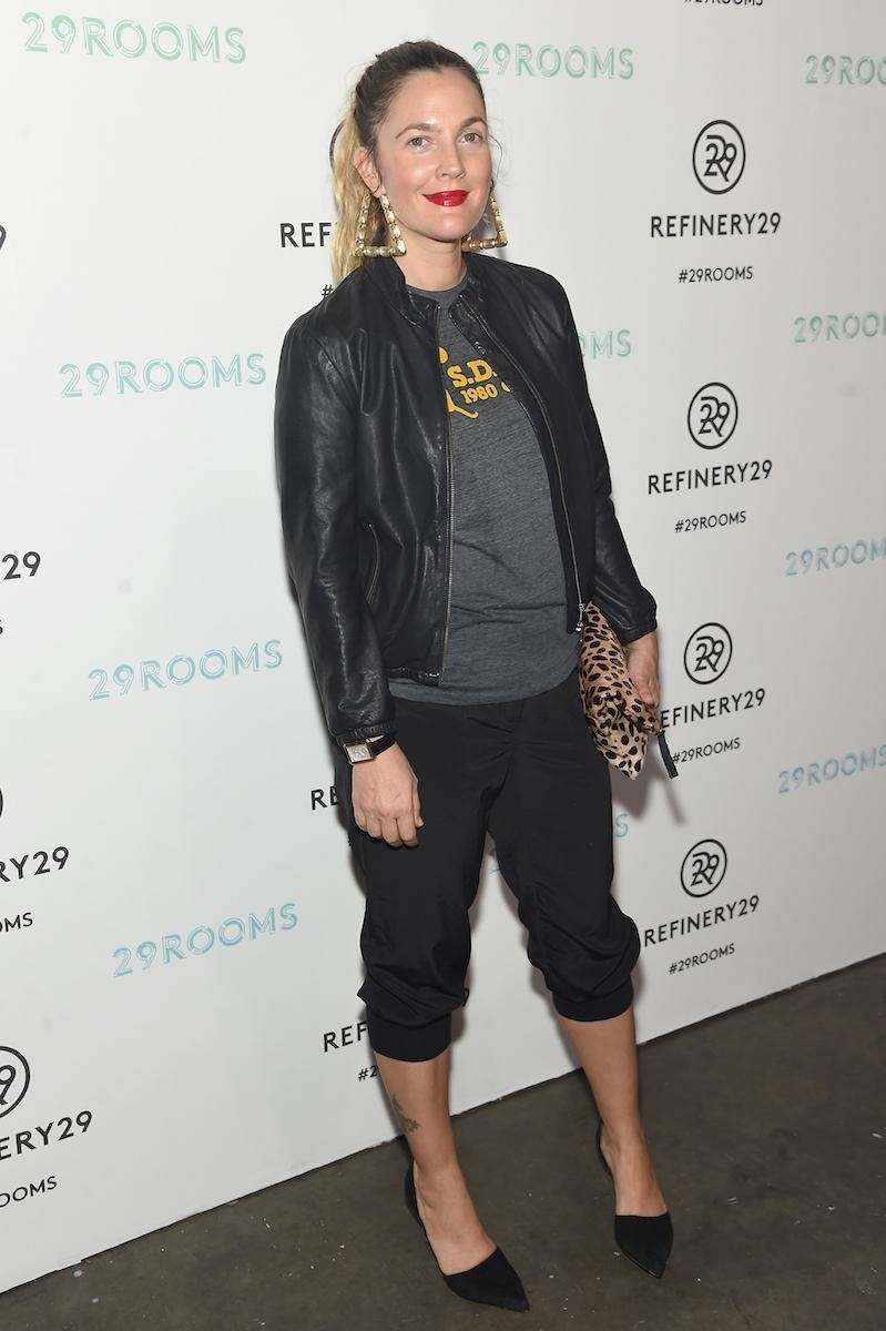 Drew Barrymore attends the Refinery29 presentation of 29Rooms,