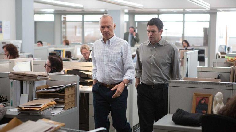 Michael Keaton, Mark Ruffalo and Rachel McAdams star