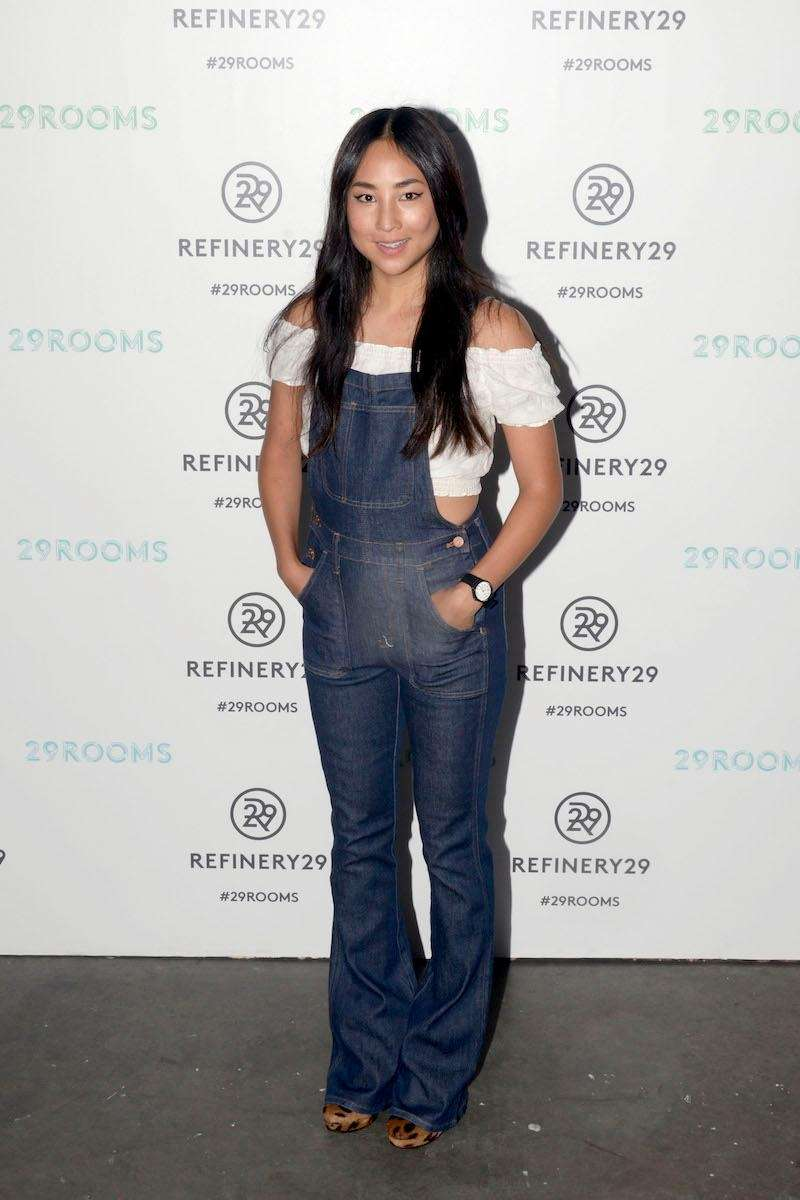 Actress Greta Lee attends the Opening Night of