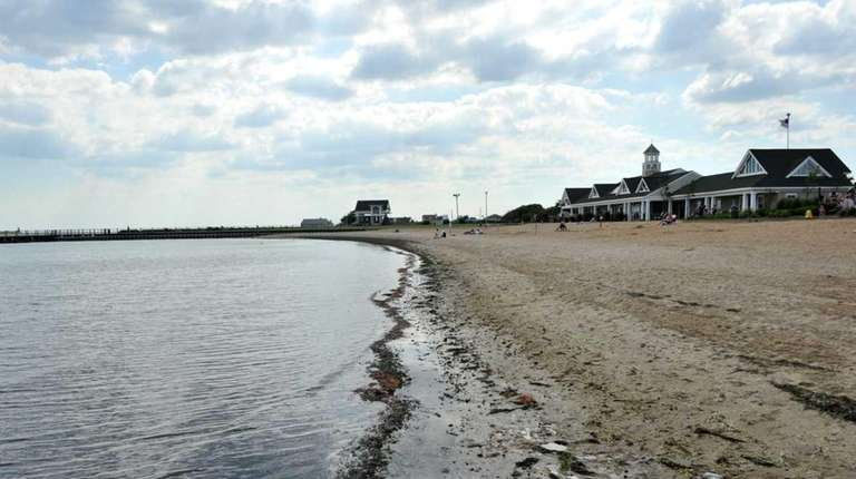 Tanner Park in Copiague is shown in this