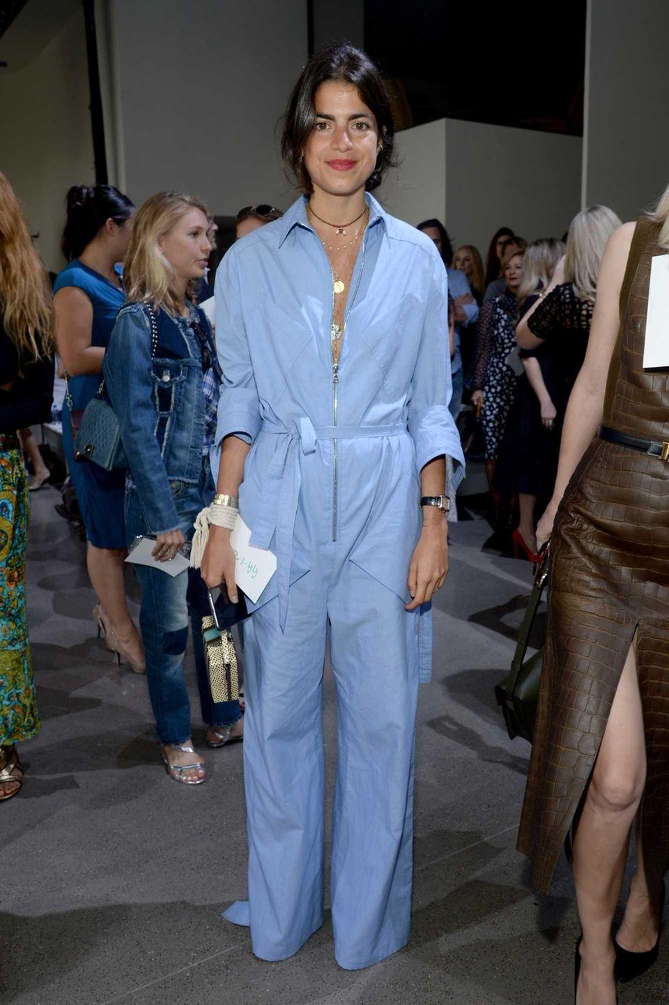 Blogger Leandra Medine attends the Jason Wu fashion