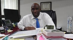 Stephen Strachan, Hempstead High School principal.