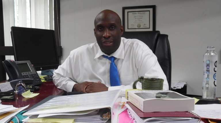 Stephen Strachan, Hempstead High School principal.