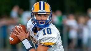East Meadow QB Anthony LaRosa rolls out of