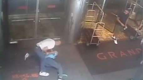 The NYPD has released video of officer James