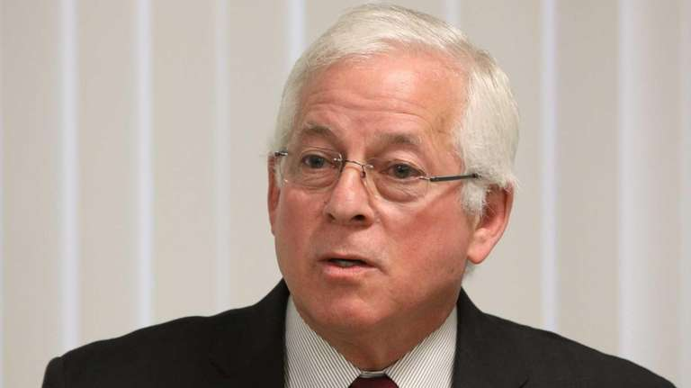 Assemb. Charles Lavine is seen during a conference
