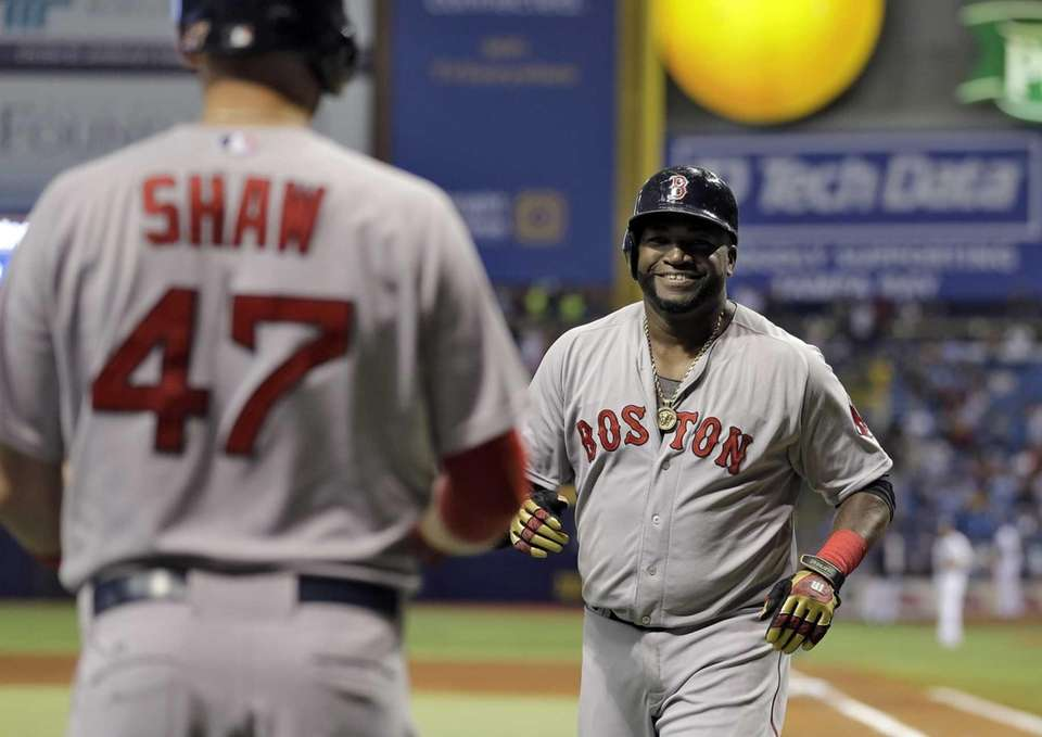 DAVID ORTIZ: 536 (through Sept. 12, 2016) -