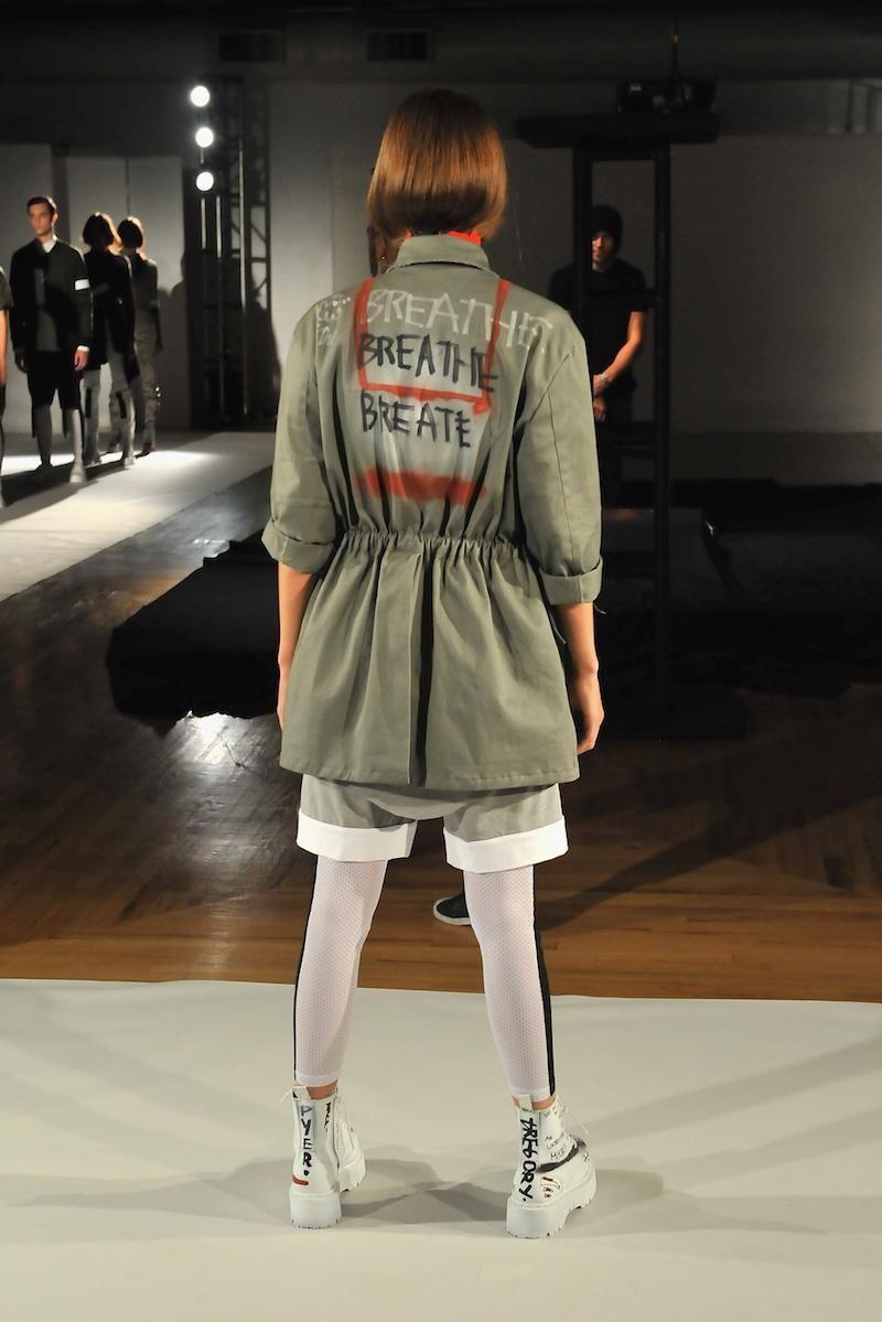 Kerby Jean-Raymond, the designer behind Pyer Moss, presented