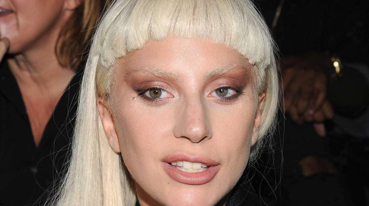 Lady Gaga attends the Alexander Wang Spring 2016