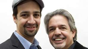 Lin-Manuel Miranda, star and creator of 'Hamilton,' left,