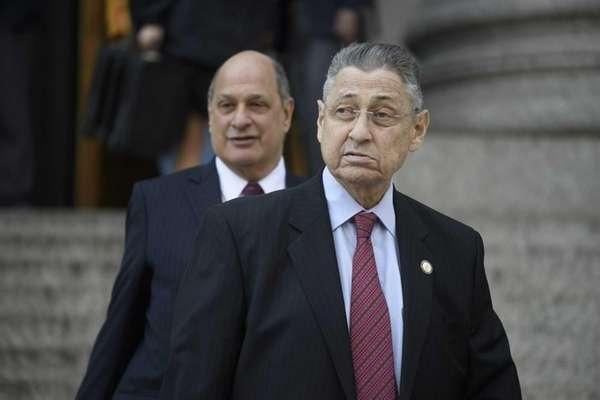 Former New York State Assembly Speaker Sheldon Silver,
