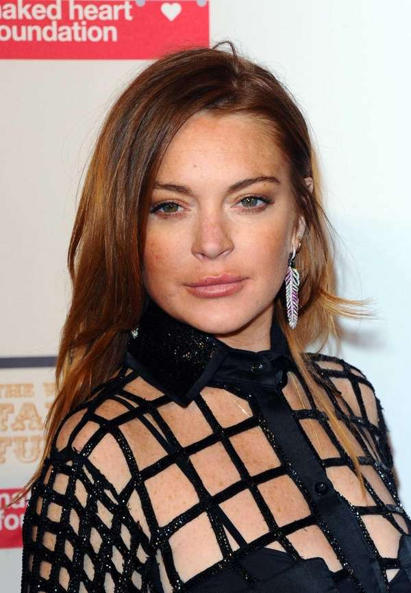 Lindsay Lohan attends The World's First Fabulous Fund