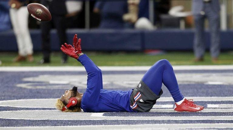New York Giants wide receiver Odell Beckham (13)