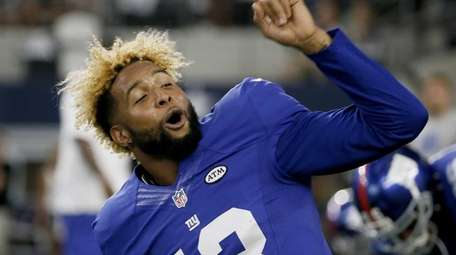 New York Giants wide receiver Odell Beckham (13)