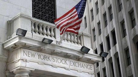 The New York Stock Exchange on Monday, Aug.