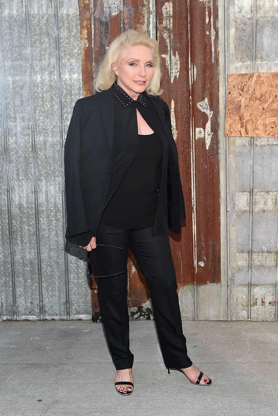 Debbie Harry attends the Givenchy fashion show during