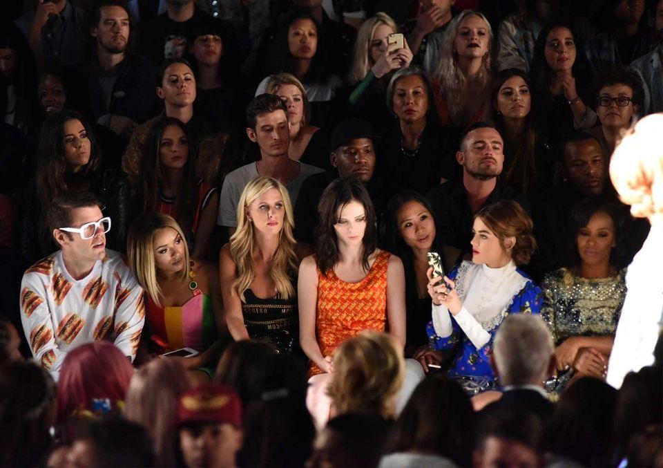 Fashion Designer Nicky Hilton, Fashion Model Coco Rocha,