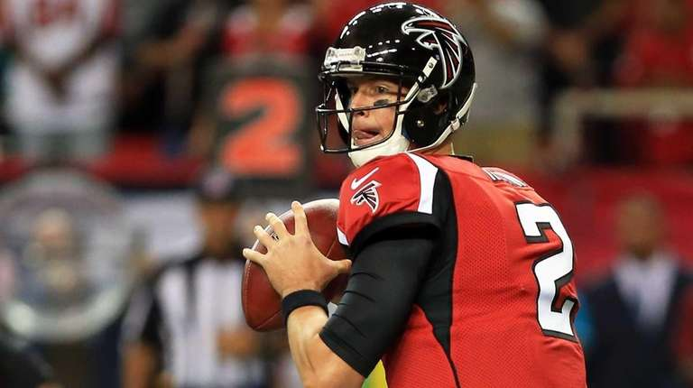 Matt Ryan #2 of the Atlanta Falcons throws