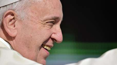 Pope Francis, pictured here on Aug. 26, 2015,