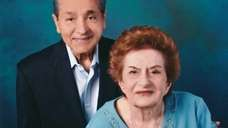 George and Christina Martinez of East Meadow celebrated