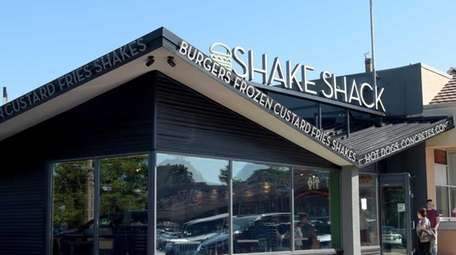 The newest Shake Shack in the Lake Success