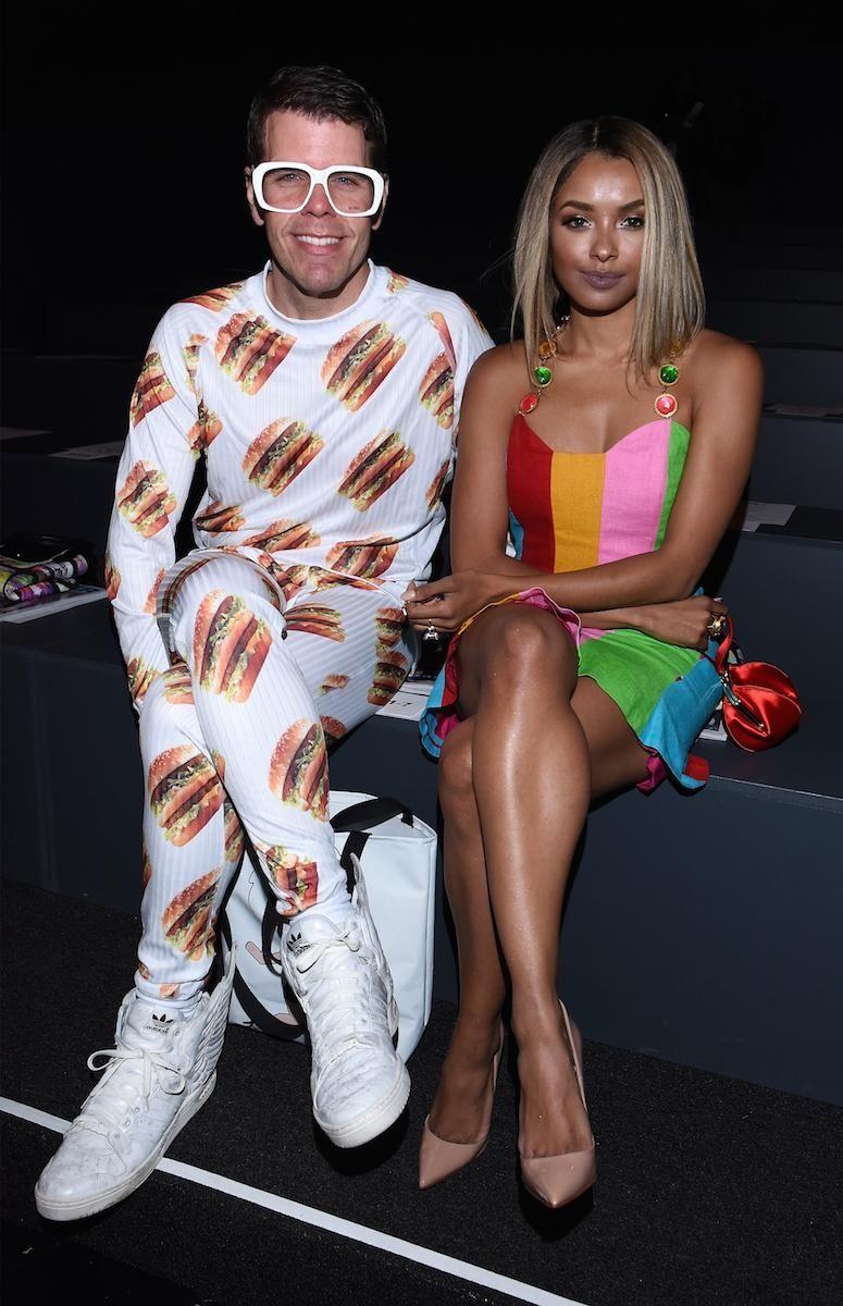 (L-R) Blogger Perez Hilton and Actress Kat Graham