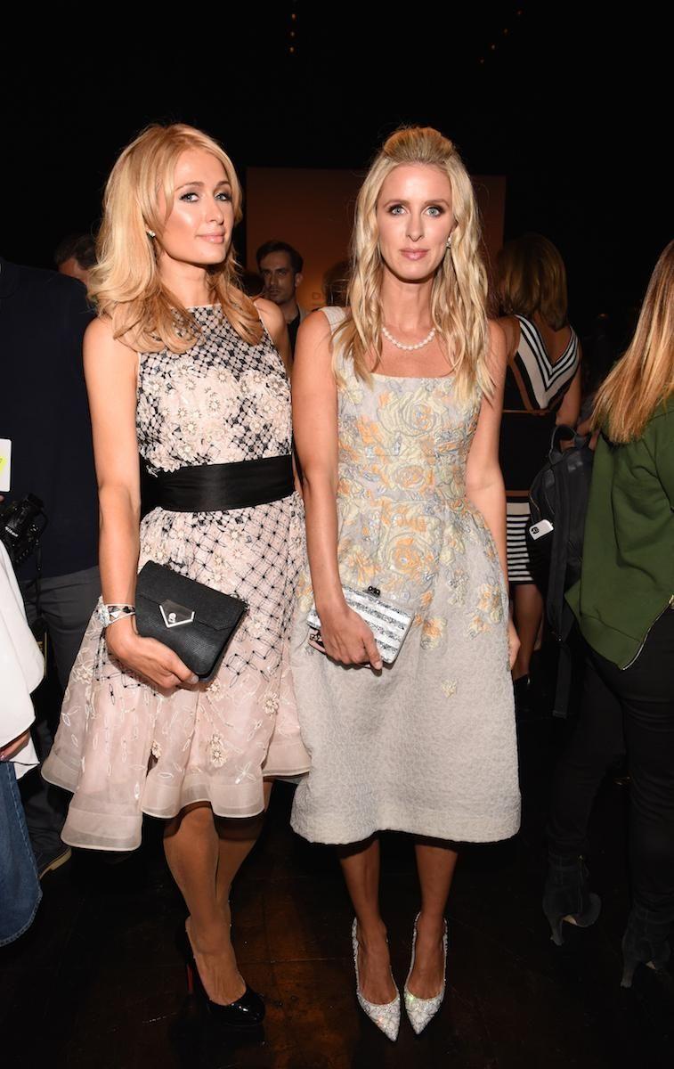 Paris Hilton and Nicky Hilton Rothschild attend Dennis