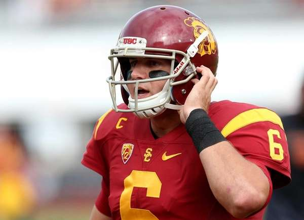 Quarterback Cody Kessler of the USC Trojans