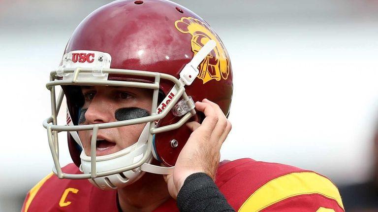 Quarterback Cody Kessler of the USC Trojans
