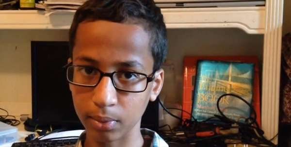 Ahmed Mohamed, 14, of Irving, Texas, was arrested