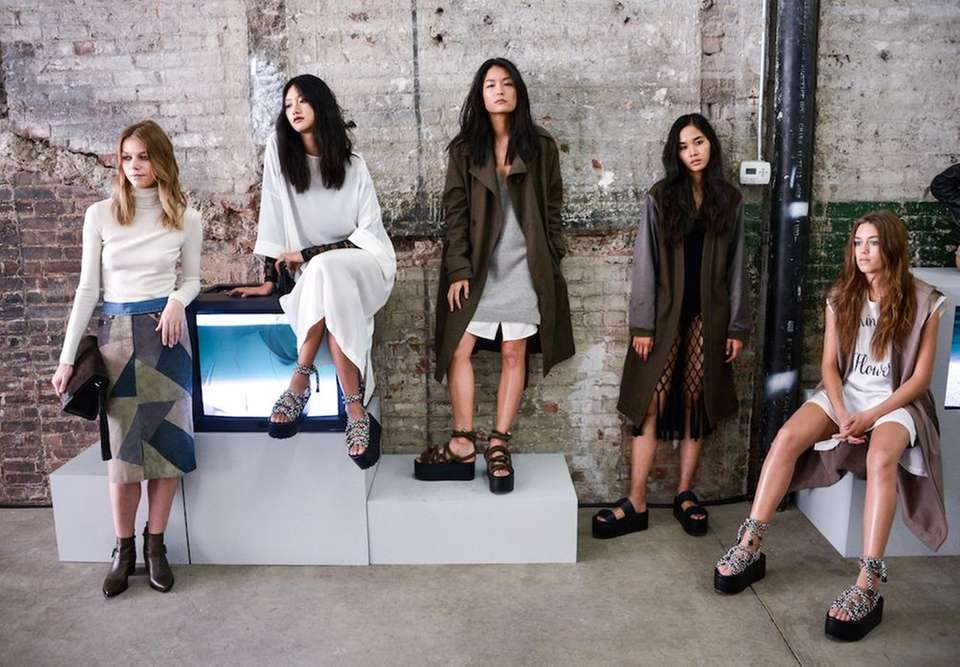 AllSaints SS16 collection offered a liberating