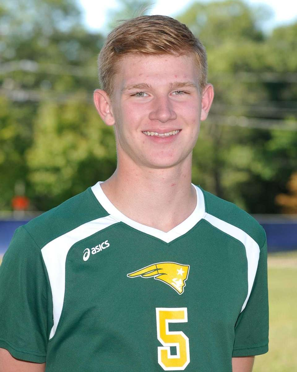 Ward Melville, Senior, Outside Hitter Had 315 kills,