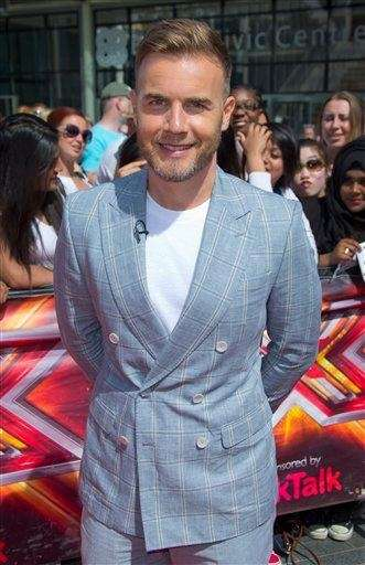 Gary Barlow, a judge on