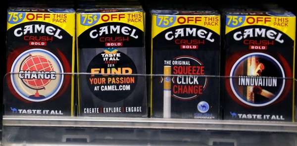 Camel Crush Bold cigarettes, a R.J. Reynolds Tobacco