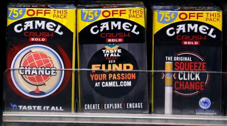 Camel Crush Bold cigarettes, a R.J. Reynolds Tobacco