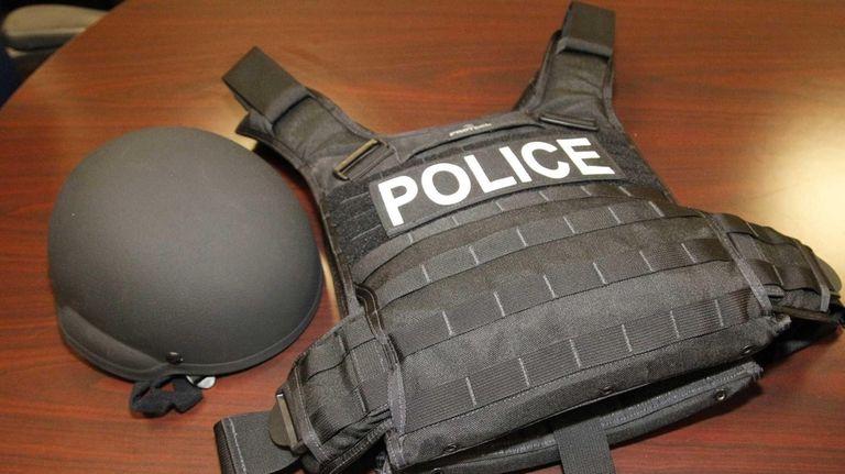 Nassau County Police get 282 new helmets, vests