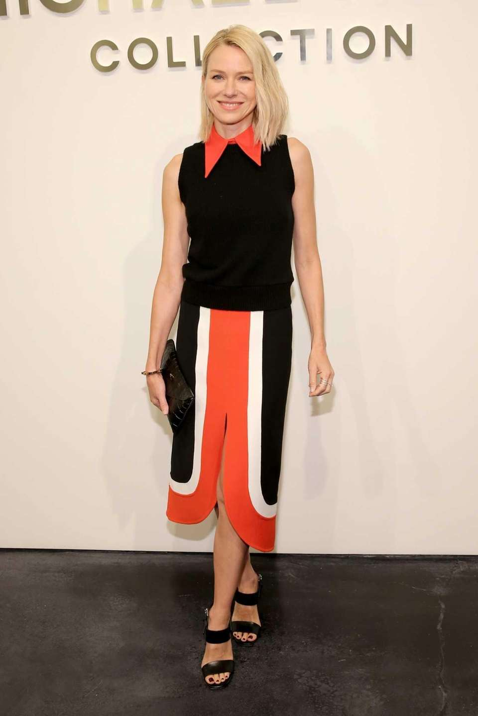 Naomi Watts attends the Michael Kors Spring 2016