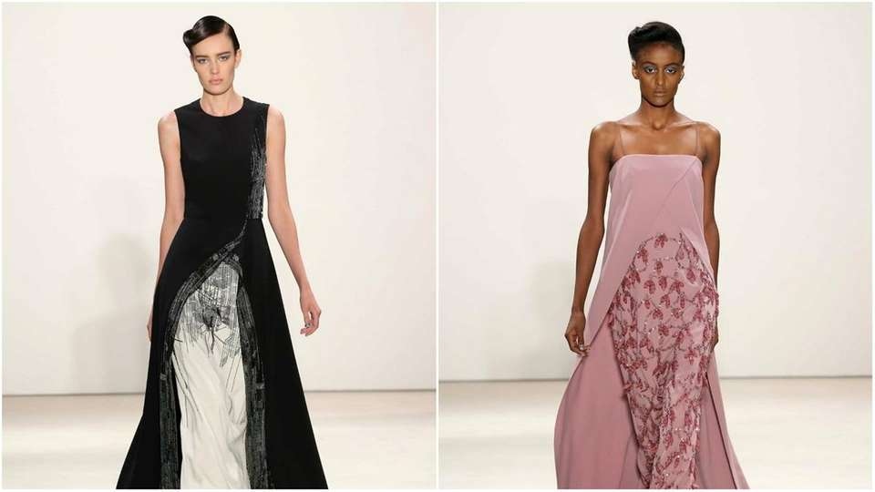 Bibhu Mohapatra's models didn't walk down a traditional
