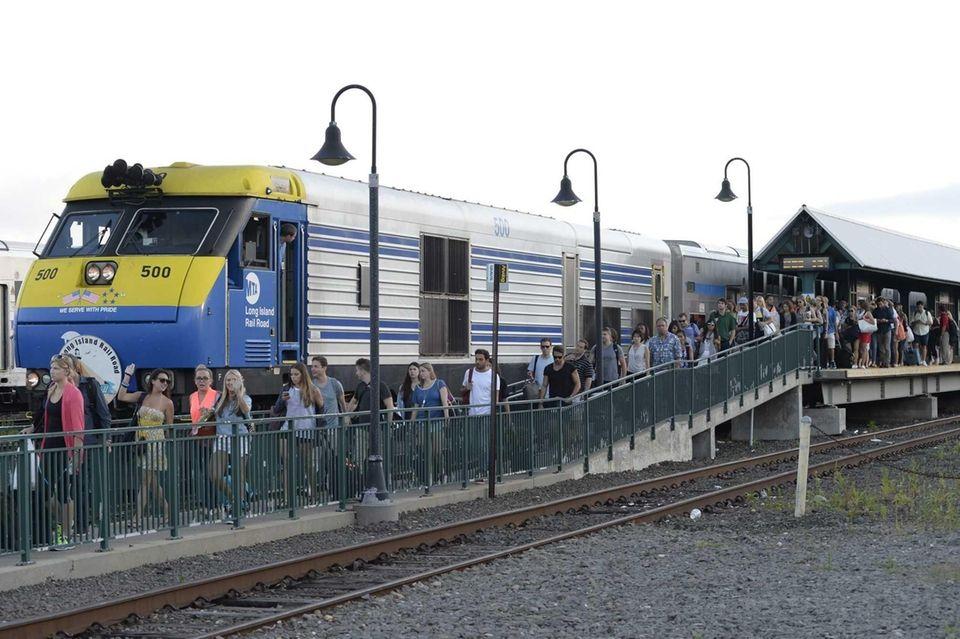 (n) An express Long Island Rail Road train