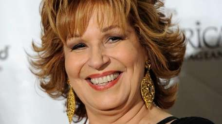 Joy Behar, pictured here, and Michelle Collins who