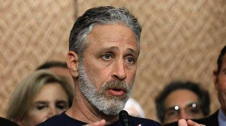 Jon Stewart -- speaking in support of the